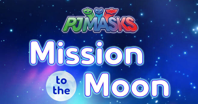 Scholastic PJ Masks Mission To The Moon Sweepstakes