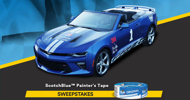 ScotchBlue Pro Painter's Tape Sweepstakes