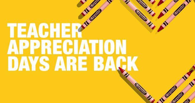 Staples Teacher Appreciation Sweepstakes
