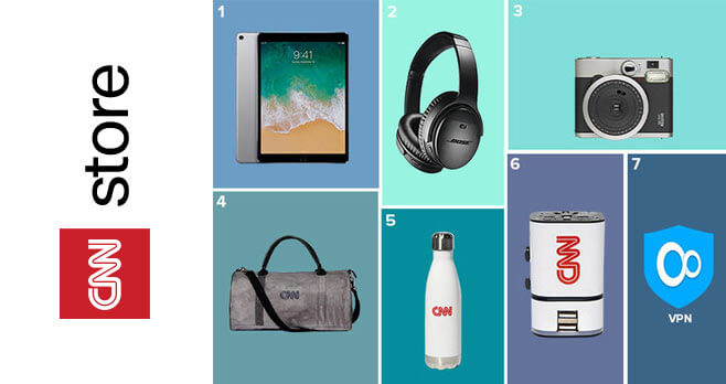 CNN Store Travelers Essentials Giveaway