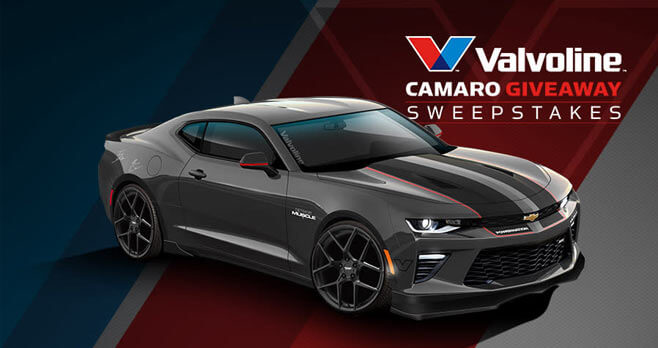 PowerNation TV Valvoline Camaro Giveaway