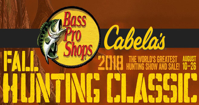 Bass Pro Shops 2018 Fall Hunting Classic Sweepstakes