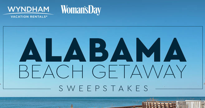 Woman's Day Alabama Beach Getaway Sweepstakes