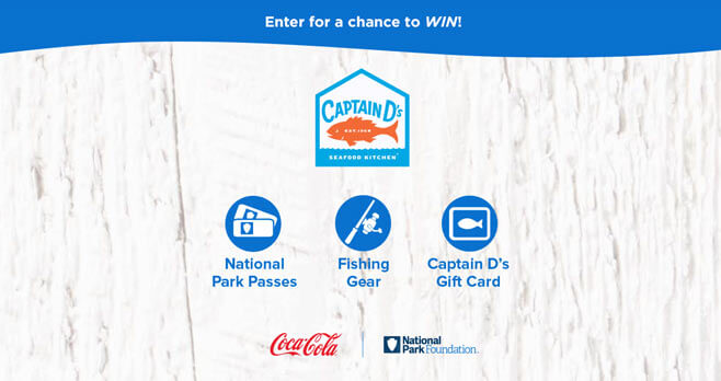 Go Fishing with Captain D's Sweepstakes