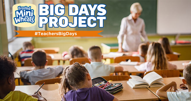 Kellogg's Frosted Mini Wheats Teachers Big Day Sweepstakes