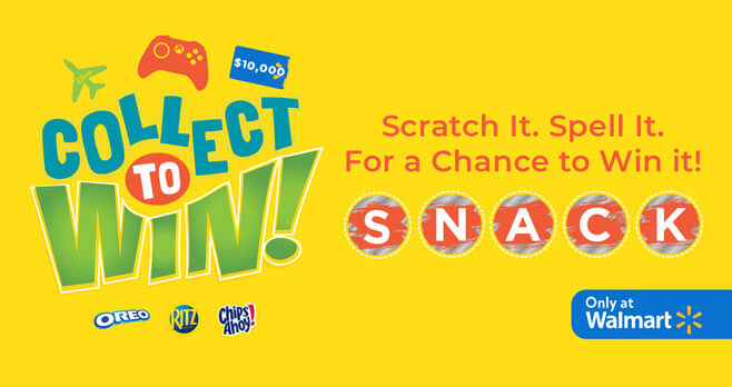 Walmart Collect Snack To Win
