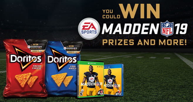 Doritos Madden NFL 19 Sweepstakes