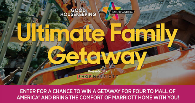 Good Housekeeping Mall of America Ultimate Family Getaway Sweepstakes