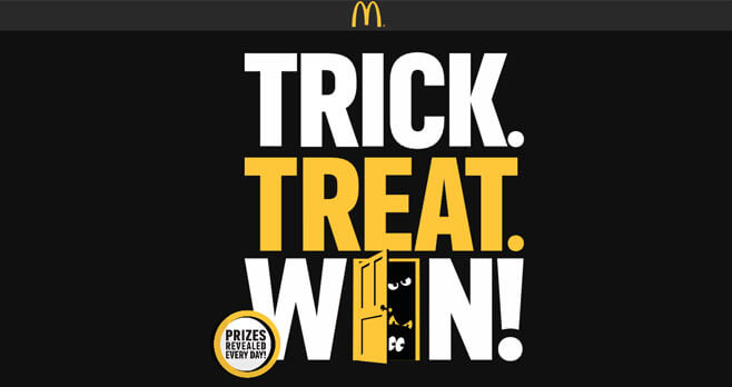 McDonald's Trick Treat Win Game (TrickTreatWin.com)