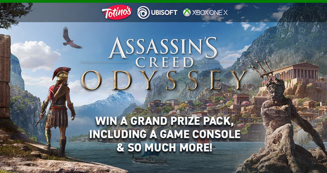 Totino's Assassin's Creed Odyssey Sweepstakes