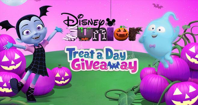 Disney Junior Treat A Day Giveaway (DisneyJuniorTreatADay.com)