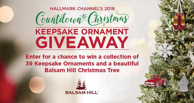 Hallmark Channel's 2018 Keepsake Ornament Giveaway