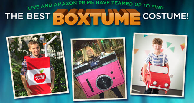 LIVE With Kelly and Ryan Halloween Boxtume Contest