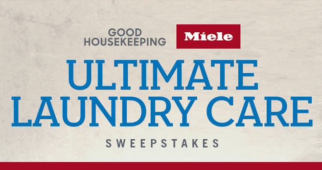 Good Housekeeping Miele Ultimate Laundry Care Sweepstakes