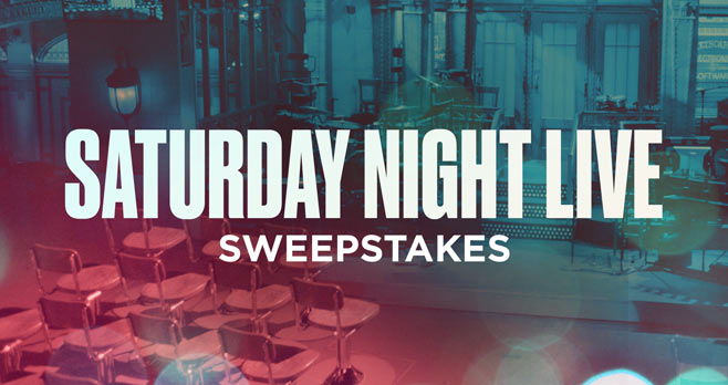 NBC Saturday Night Live Sweepstakes