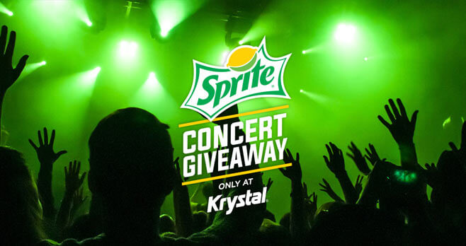 Sprite Krystal Concert Giveaway