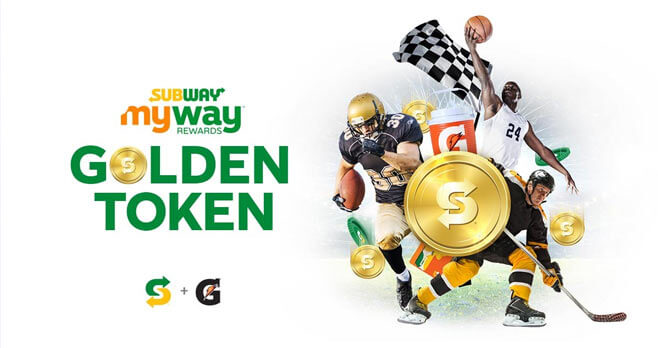 Subway Golden Token Instant Win Game (SubwayGoldenToken.com)
