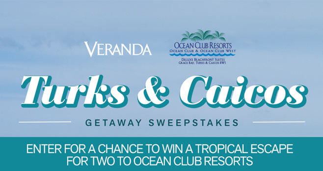 Veranda Ocean Club Resorts Getaway Sweepstakes