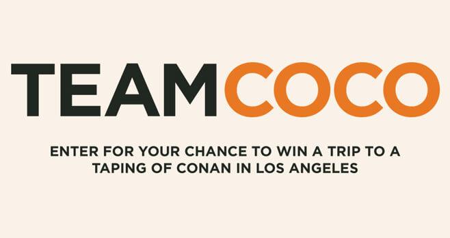 Conan Comedy Tour Sweepstakes