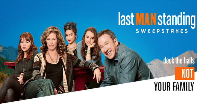 Last Man Standing Sweepstakes