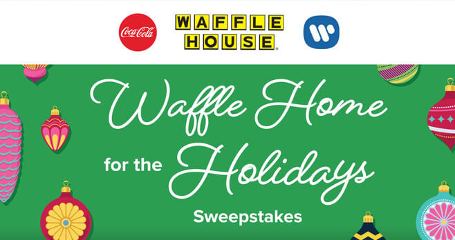 Waffle House Home for the Holidays Sweepstakes
