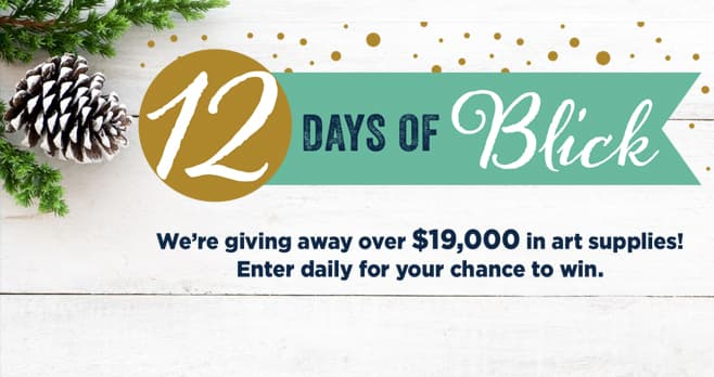 12 Days of Blick Sweepstakes