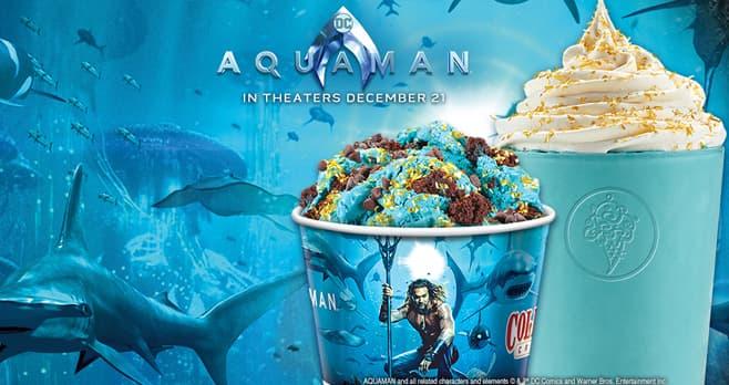 Cold Stone Creamery Aquaman Sweepstakes