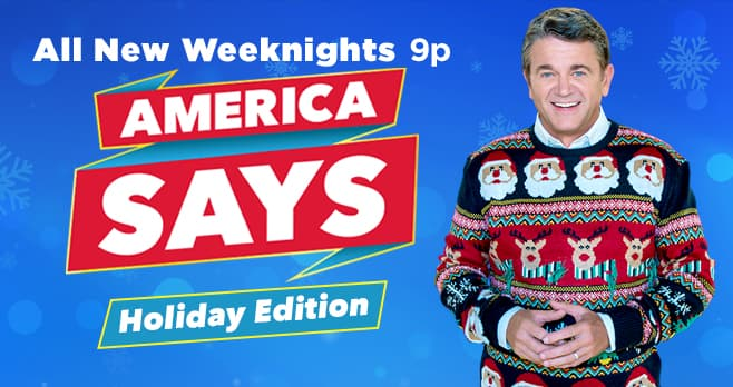 Game Show Network America Says Holiday Game Sweepstakes
