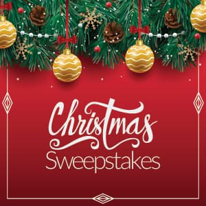 Christmas Sweepstakes 2018