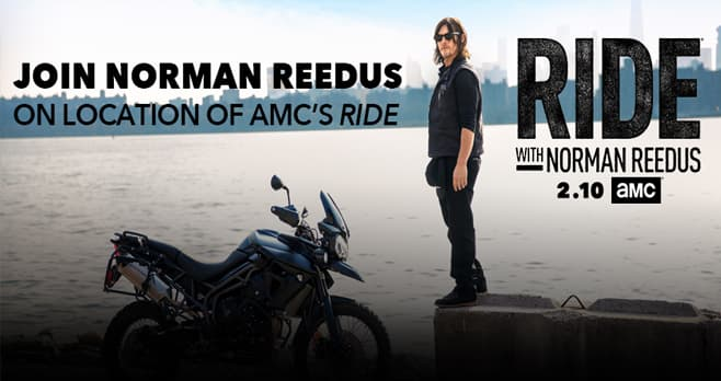 AMC Network Ride With Norman Reedus Sweepstakes