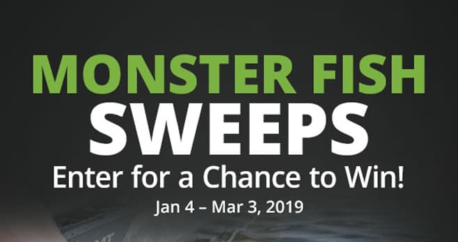 Bass Pro Shops Monster Fish Sweepstakes
