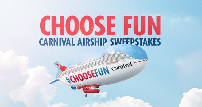 Carnival Cruise Winning in LA Sweepstakes