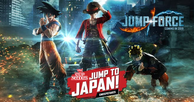 Nissin Foods Cup Noodles Jump To Japan Sweepstakes