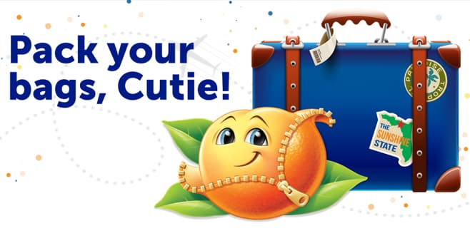 Cuties Dream Vacation Giveaway