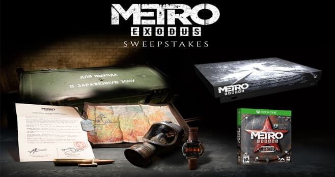 GameStop PowerUp Rewards Metro Exodus Sweepstakes