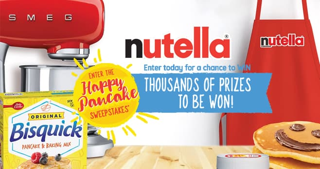 NUTELLA Happy Pancake Sweepstakes