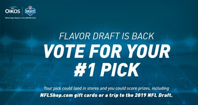 Kroger & Oikos Flavor Draft Sweepstakes (OikosFlavorDraft.com)