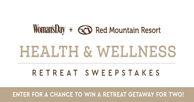 Woman's Day Red Mountain Getaway Sweepstakes