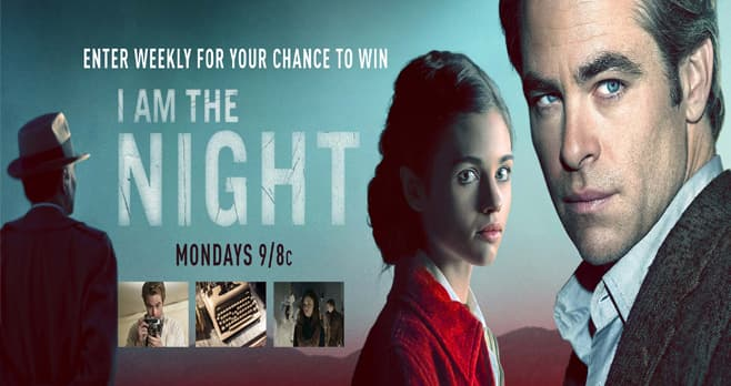 TNT I Am The Night Sweepstakes