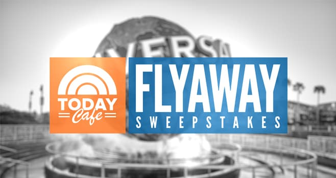 TODAY Cafe Flyaway Sweepstakes (TODAY.com/Cafe)