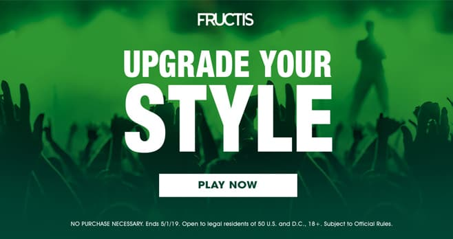Fructis Upgrade Your Style Sweepstakes (FructisUpgrade.com)