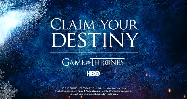 Game of Thrones Premiere VIP Sweepstakes (GOTPremiereVIP.com)