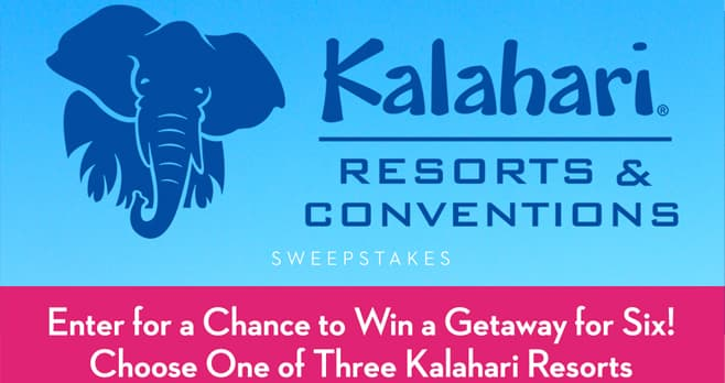 Good Housekeeping Kalahari Resort Sweepstakes