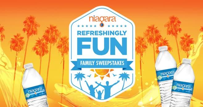 Niagara Refreshingly Fun Sweepstakes (RefreshinglyFun.com)