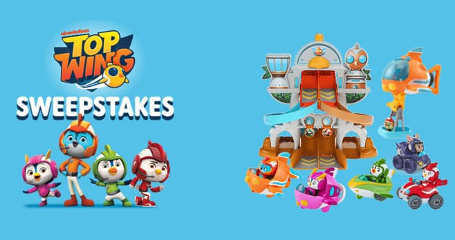 Nick Jr Top Wing Sweepstakes