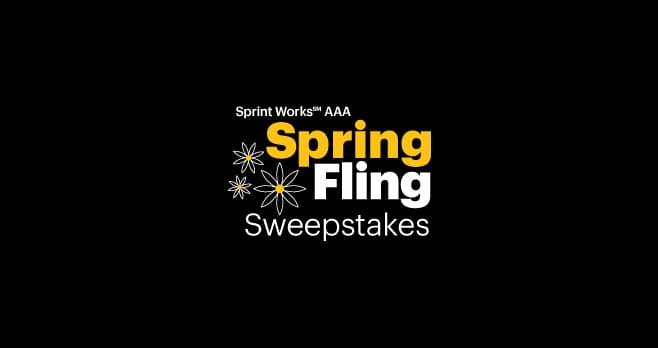Sprint AAA Spring Fling Sweepstakes