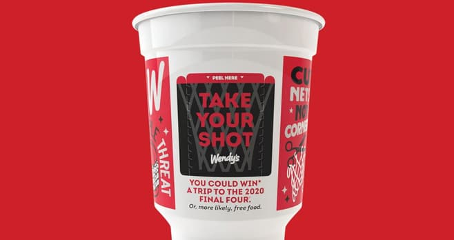 Wendy's Take Your Shot Instant Win Game (WendysTakeYourShot.com)