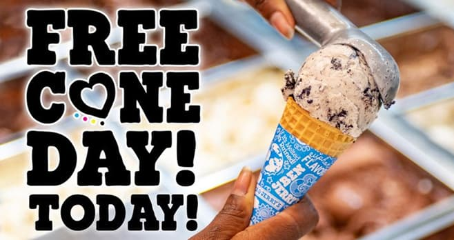 Ben And Jerry Free Cone Day 2019 Sweepstakes