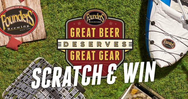 Founders Great Beer Memorial Day Sweepstakes | Sweepstakes