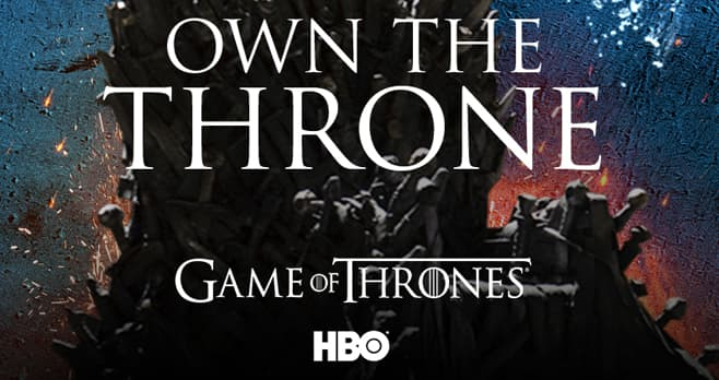 Game of Thrones Own The Throne Sweepstakes by AT&T